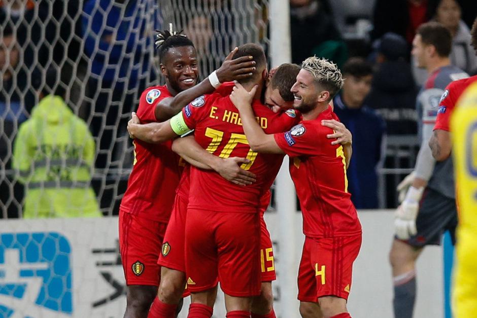 Die Belgier bleiben in der EM-Quali weiter ungeschlagen.