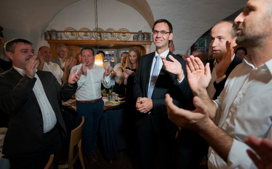 ÖVP-Spitzenkandidat und Vorarlbergs Landeshauptmann Markus Wallner hat die Wahl, wird sich aber laut Experten für die Grünen als Koalitionspartner entscheiden.