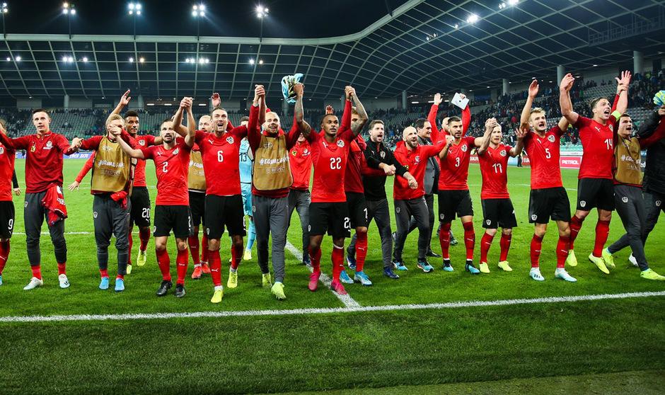 ÖFB-Jubel in Laibach: Die österreichischen Kicker setzten sich verdient mit 1:0 gegen Slowenien durch.