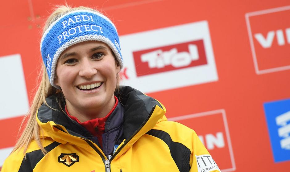Natalie Geisenberger lässt die Weltcup-Saison 2019/2020 aus erfreulichen Gründen aus.