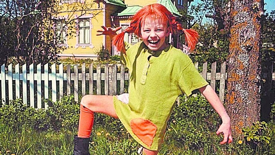Pippi verbreitet Fröhlichkeit in den Kinderzimmern.