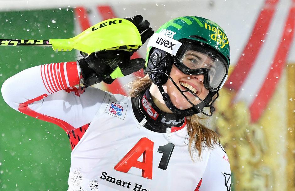 Ob Katharina LIensberger schon bald im Weltcup wieder jubeln darf, bleibt abzuwarten.