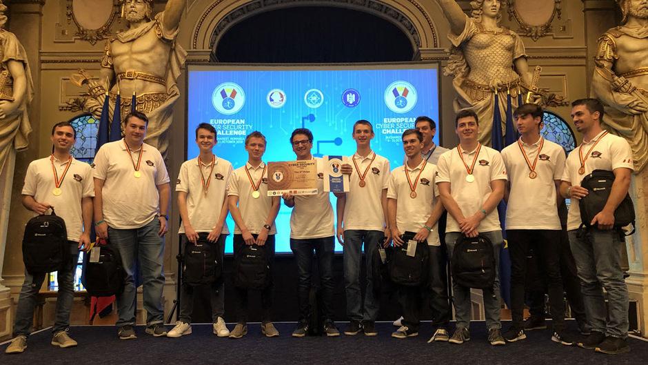 Mit Bronze durfte das österreichische Hacker-Team nach Hause fahren.