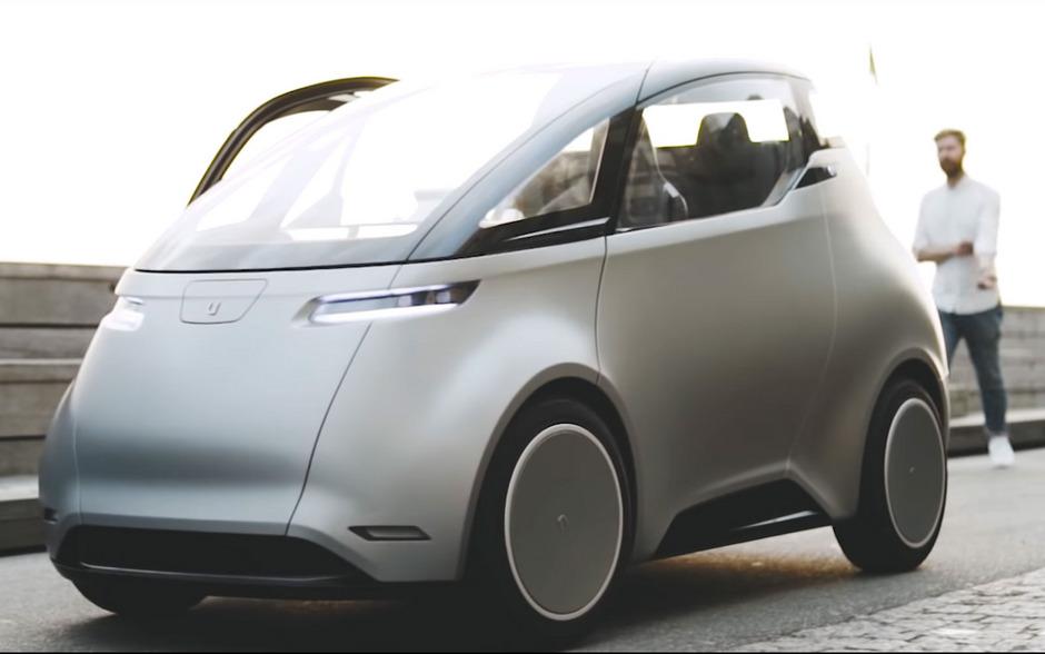 """""""Uniti One"""" soll trotz eines eher kleinen 12-kWh-Akkus eine Reichweite von bis zu 150 Kilometern haben."""