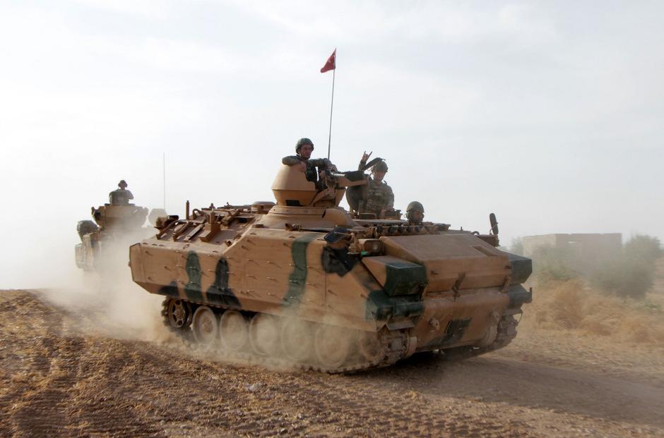 Die Offensive der Türkei gegen Kurden in Nordsyrien löst international Empörung aus.