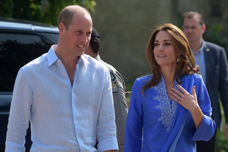Prinz William und seine Frau Herzogin Kate sind aktuell für fünf Tage in Pakistan.
