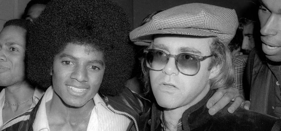 Eine ungewöhnliche Freundschaft: Michael Jackson und Elton John 1978 gemeinsam im legendären Studio 54.