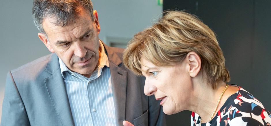 BM Georg Willi und StR Christine Oppitz-Plörer haben wohl auch heute einige Dinge zu bereden.
