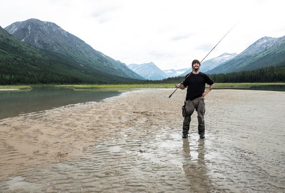 Sebastian Schmid lebte monatelang allein in der Wildnis Kanadas ohne Verbindung zur Außenwelt.