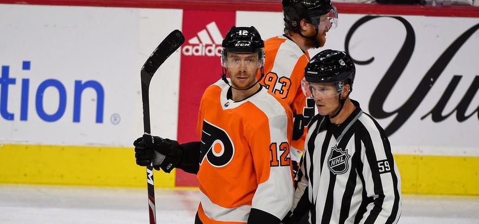 Michael Raffl musste sich mit seinen Flyers geschlagen geben.