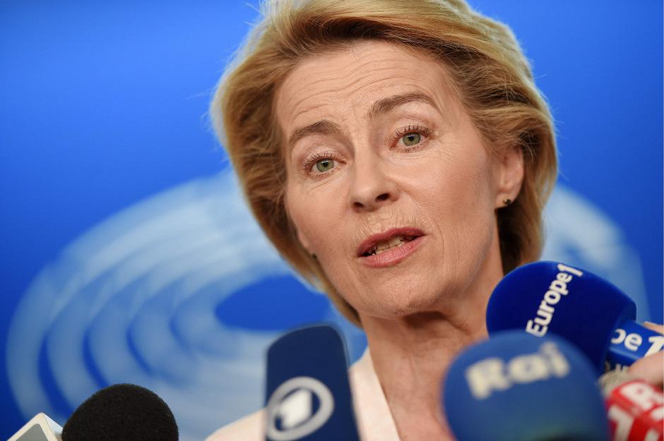 Die neue EU-Kommissionspräsidentin Ursula von der Leyen.