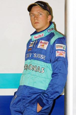 2001debütierte Räikkönen für Sauber.