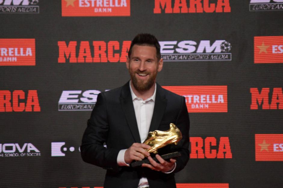 Lionel Messi hat in der abgelaufenen Saison 36 Treffer erzielt.
