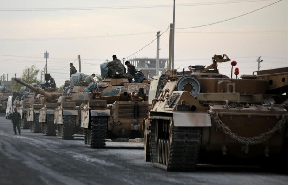 Erdogan hatte nach dem Abzug der US-Truppen die Offensive gegen die Kurdengebiete in Nordsyrien gestartet.