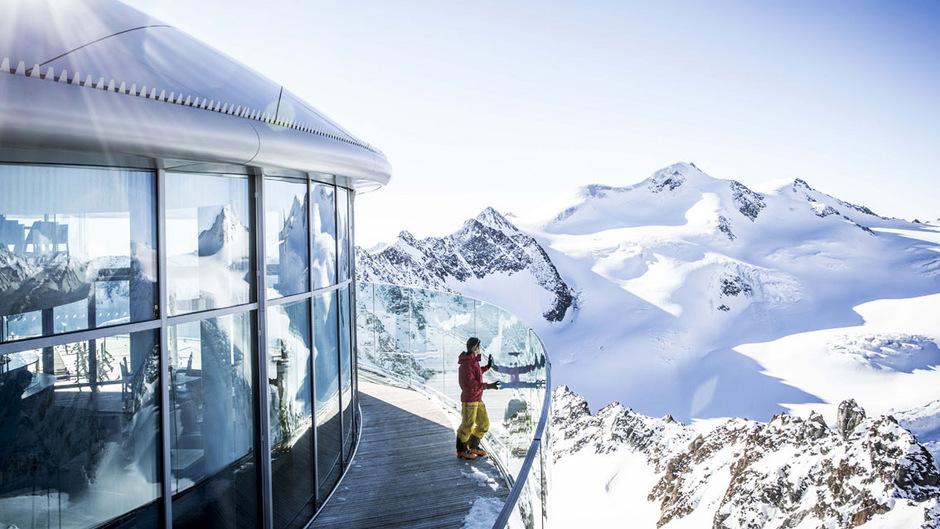 Am Pitztaler Gletscher geht es am Wochenende rund.