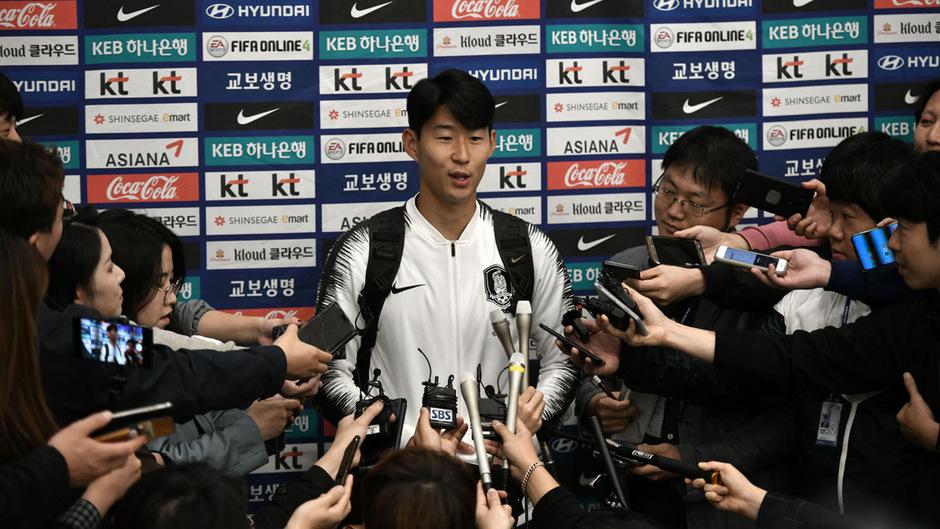 Das Duell in Pjöngjang behagte Heung-Min Son und seinen Südkoreanern nicht.