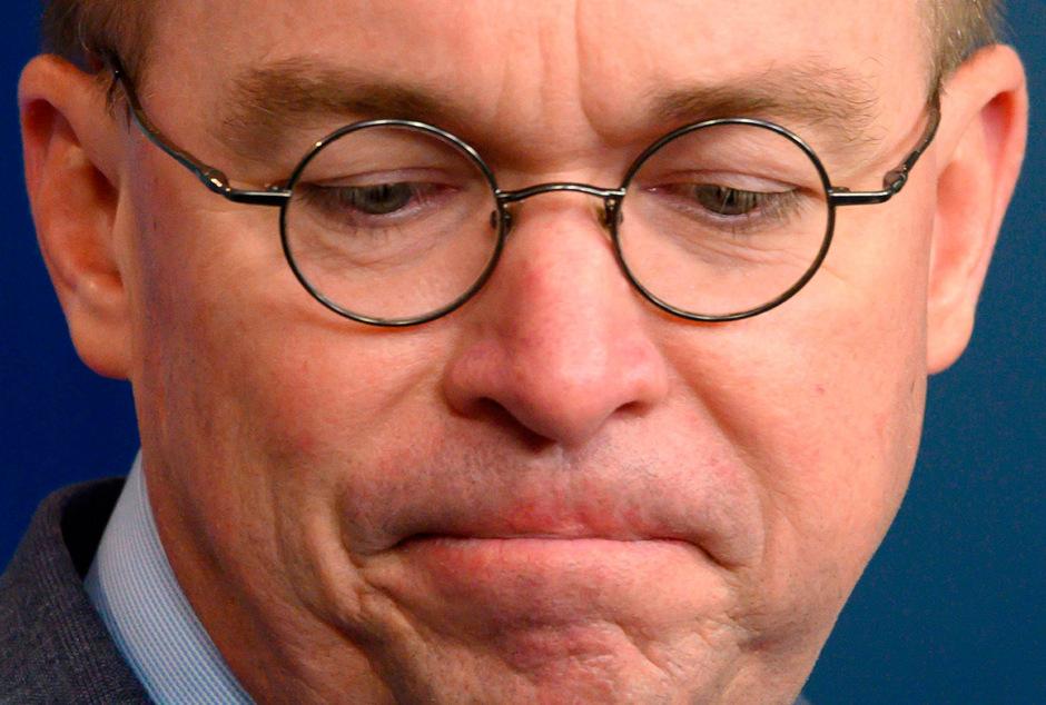 Der Stabschef im Weißen Haus, Mick Mulvaney.