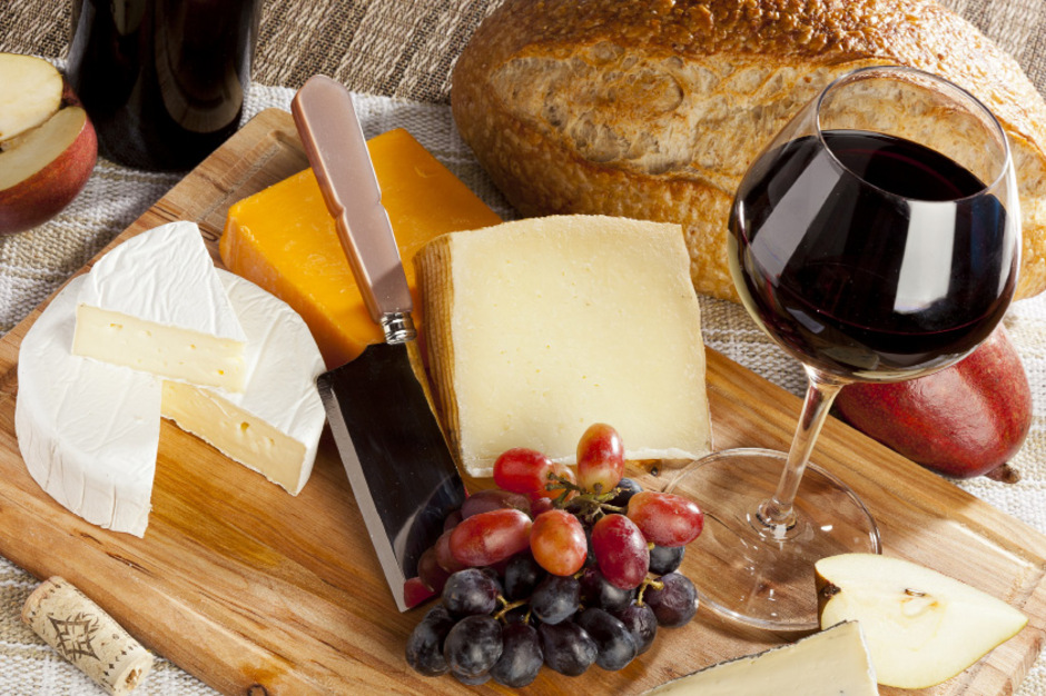 Auch europäische Weine und Käse sind von den Strafzöllen betroffen.