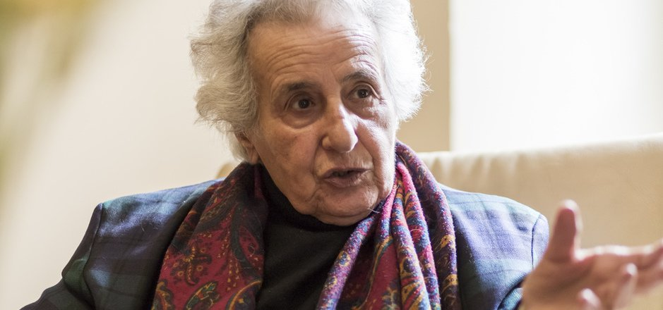 Anita Lasker-Wallfisch war Mitglied des Mädchenorchesters im Konzentrationslager Auschwitz.