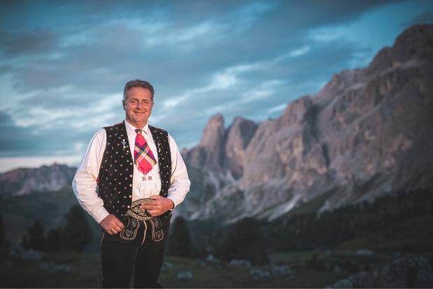 Spatzen-Chef und Sänger Norbert Rier.