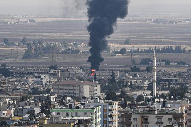 Die Grenzstadt Ras al-Ain ist Hauptziel in den Gefechten.