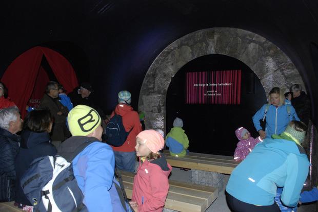 Das Filmtheater zog Groß und Klein im Hornwerk in seinen Bann.
