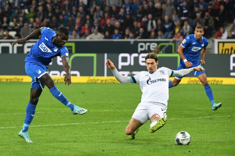 Hoffenheim besiegte Schalke mit 2:0.