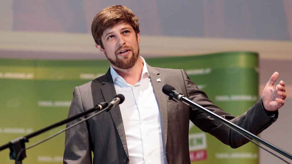 Thimo Fiesel, Wahlkampfleiter der Grünen, zieht es in die Bundespolitik.