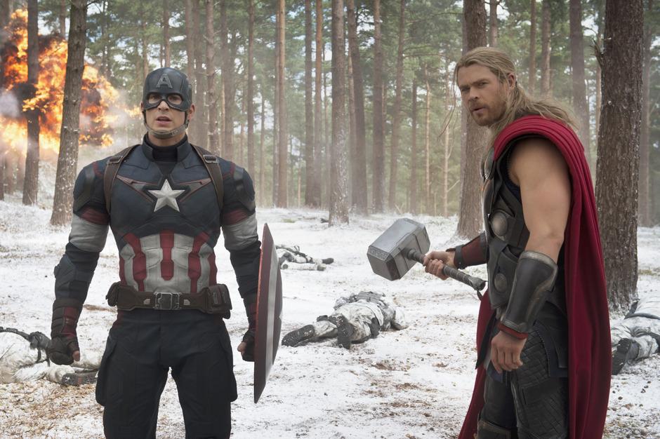 Die Filmwelt diskutiert über den weltweiten Erfolg von Superhelden-Blockbustern wie ?Avengers? oder ?Thor?.