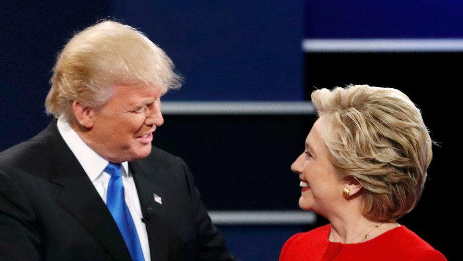 Clinton unterlag Trump bei der Präsidentschaftswahl 2016.