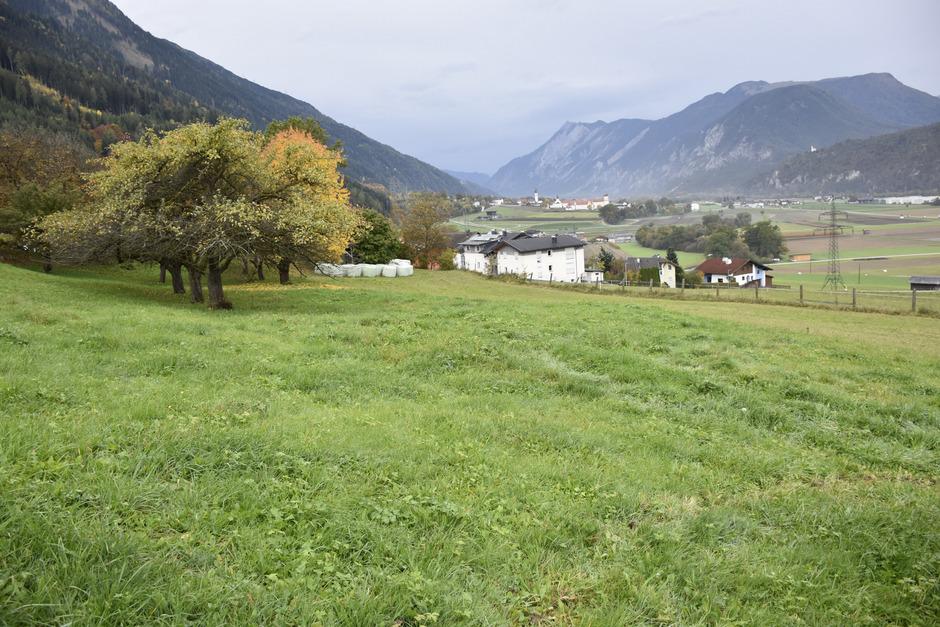 Auf diesem ehemaligen Freiland im Stamser Weiler Windfang entstehen die neuen Bauplätze.