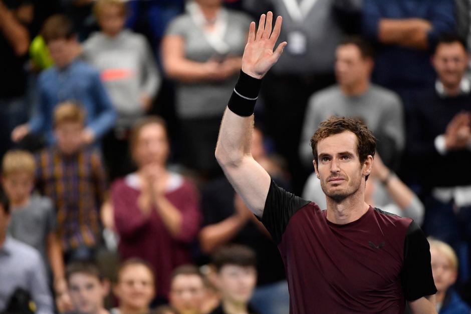Emotionaler Triumph für Andy Murray in Antwerpen.