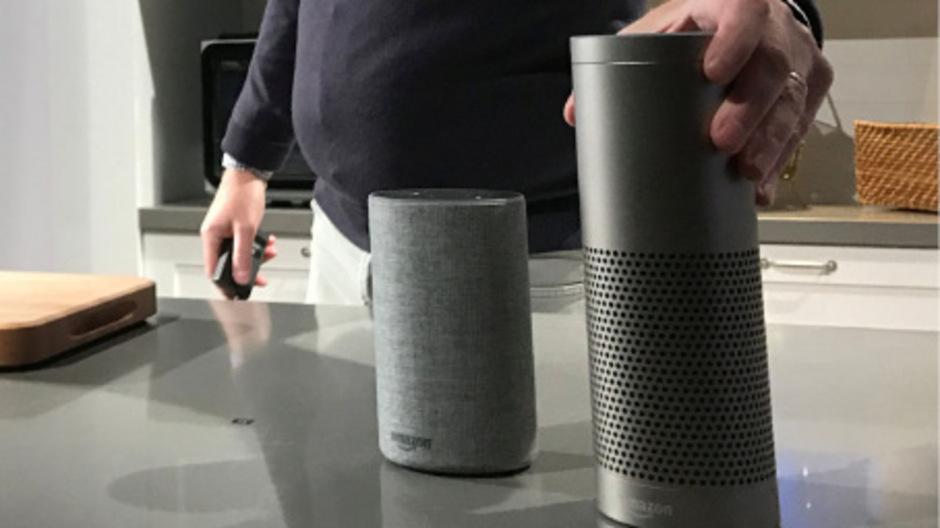 """Amazons """"Echo""""-Produkte funktionieren über Sprachsteuerung."""