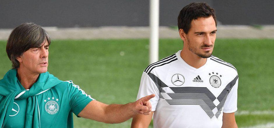 Setzt Joachim Löw in Hinblick auf die EURO 2020 wieder auf Mats Hummels?