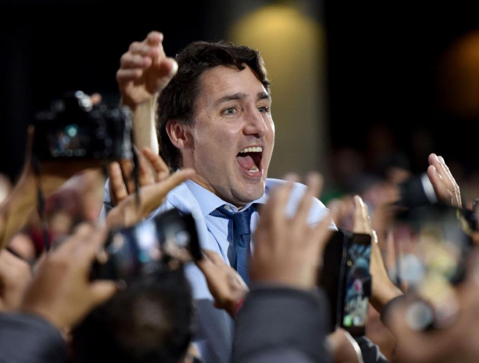 Trudeau muss nun eine Minderheitsregierung bilden.