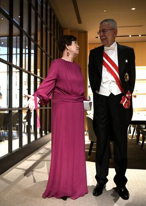 Auch Bundespräsident Alexander Van der Bellen und seine Frau Doris Schmidauer wohnten der Zeremonie bei.