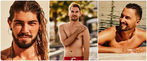 Dominik, Pascal und Antonio aus Wien sind drei von 20 Kandidaten.