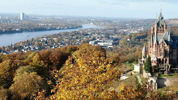 Die ehemalige Hauptstadt Deutschlands, Bonn, ist ebenfalls unter den Top Ten der besten Städte.