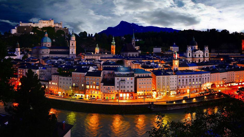 """""""Der Herzensbrecher einer Alpenstadt"""" Salzburg ist laut """"Lonely Planet"""" 2020 unbedingt eine Reise wert."""