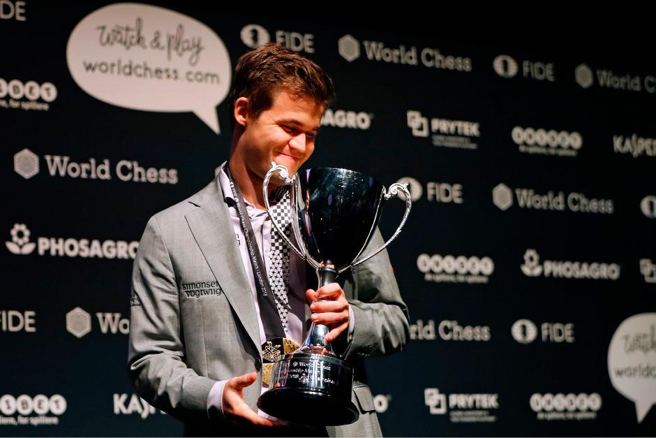 Unbesiegbar: Weltmeister Magnus Carlsen.