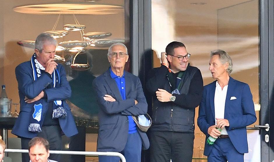 Franz Beckenbauer trat zuletzt Ende September beim Bundesliga-Spiel zwischen Hoffenheim und Gladbach öffentlich in Erscheinung.
