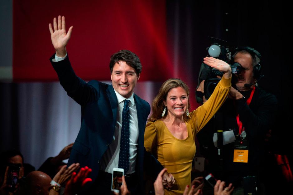 Trudeau hat Grund zu jubeln.
