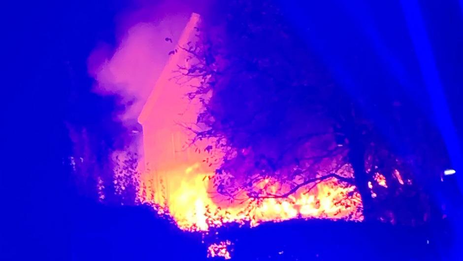 Am Dienstagabend brach in der Wiesengasse ein Feuer aus.