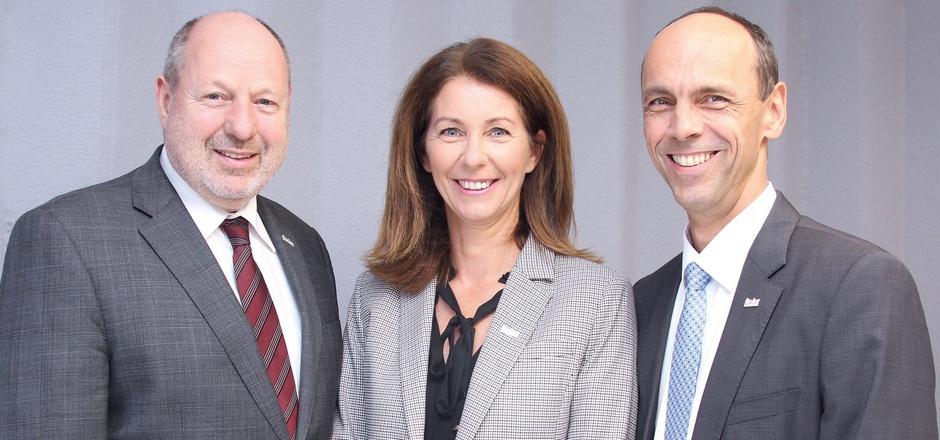 Walter Schieferer, Isolde Stieg und Franz Mair bilden ab September 2021 das Vorstandstrio der Tiroler Versicherung.