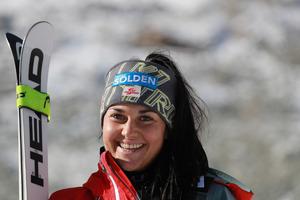 Franziska Gritsch steht vor ihrem zweiten Sölden-Start.