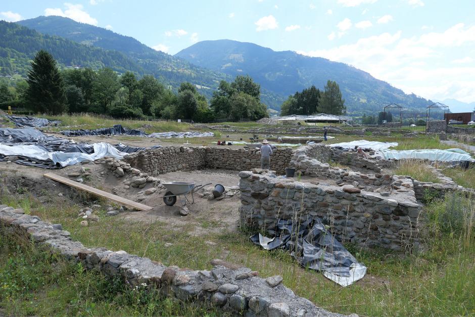 """In den vergangenen 25 Jahren hat sich der Verein """"Curatorium pro Agunto"""" für die Ausgrabungen in der Osttiroler Römerstadt starkgemacht."""