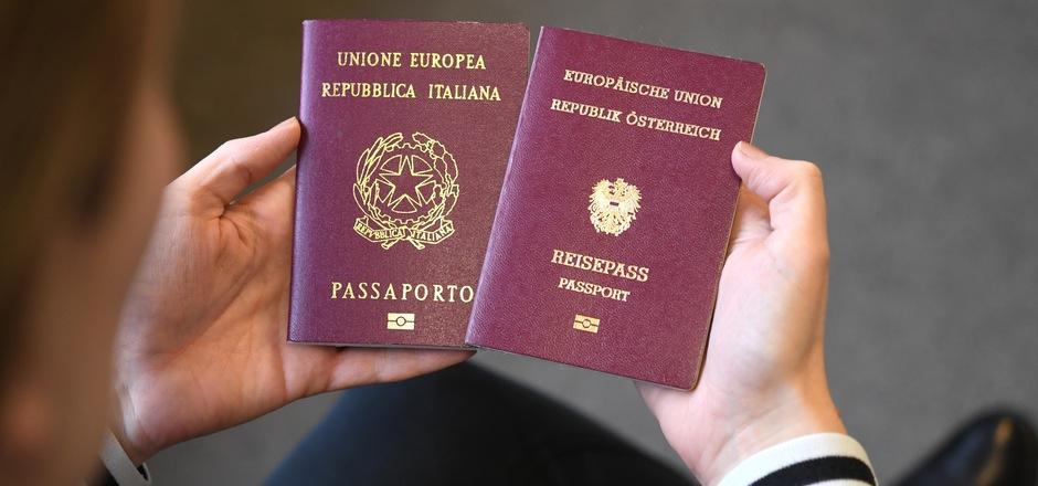 Doppelte Staatsbürgerschaft? Die meisten Südtiroler halten nichts davon.