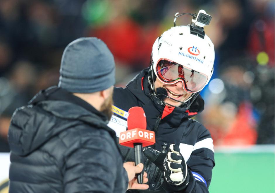Die Ski-Events - mit Experten wie hier Thomas Sykora - laufen vorerst weiter im ORF.