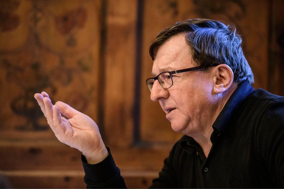 Jakob Falkner baut als OK-Chef des Sölden-Weltcups seit nunmehr 26 Jahren auf ein eingespieltes Team.