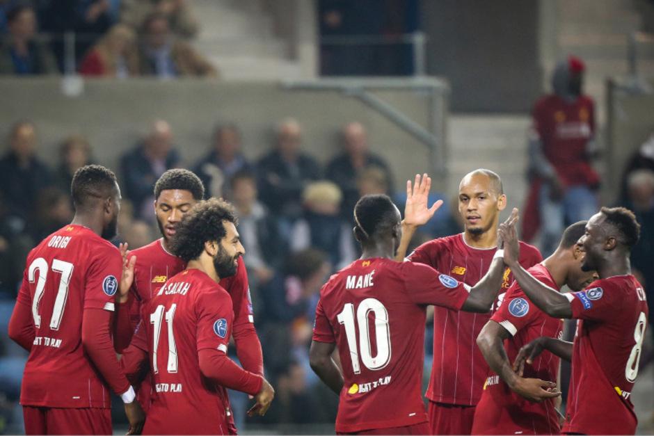 Von Mohamed Salah, der beim 1:1 bei Manchester United aufgrund einer Knöchelblessur gefehlt hatte, war vorerst wenig zu sehen.